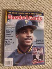 Vintage Baseball Cards Magazine 1991 March Barry Bonds
