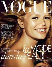 VOGUE Paris 08/2015 ANNA EWERS Edie Campbell JULIA CUMMING Sophia Ahrens @New@
