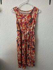 liz lange maternity Women's For Pour Target Orange-Red Dress Size XS