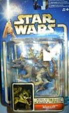 Star Wars Attack of The Clones  Massiff  & Geonsian Warrior Action Figure SET UK