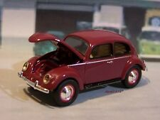 1951 VOLKSWAGEN BEETLE SPLIT WINDOW VW BUG 1/64 SCALE COLLECTIBLE DIORAMA MODEL