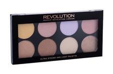 Luz Estroboscópica & Ultra Revolución de Maquillaje en Polvo Resaltador Paleta 8 tonos Navidad