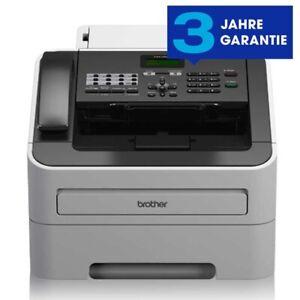 Brother Fax-2845 Laserfax mit Telefon und Kopierer 16 MB NEU