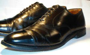 ALLEN EDMONDS BLACK PARK AVENUE CAP TOE DRESS SHOES/OXFORDS! MADE IN USA! 10 C