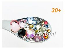 Swarovski Mix 30+ Colors & 5 Sizes Flatback Rhinestones Crystal Nail Art #MSC30