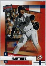 2002 Donruss Fan Club #2 Pedro Martinez VG/NM (Red Sox)