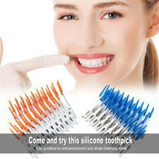 Dental Floss Interdental Brush Teeth Stick Toothpick Flosser Pick Tooth Oral LJ