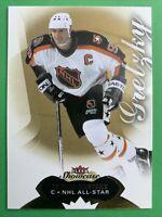 2014-15 Fleer Showcase Hockey NHL All-Star Legend #89 Wayne Gretzky