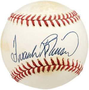 Frank Robinson Autographed Signed NL Baseball Orioles, Reds Beckett Y93005