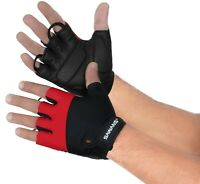 Cycling Gloves Bike Bicycle Men Women Ladies Half Finger Padded Non Slips Sports