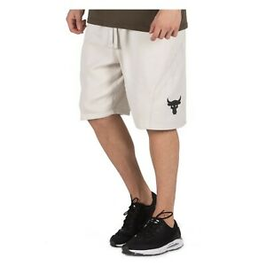 Under Armour Men's Project Rock Fitness Quick-Drying Terry Shorts 1355632-110