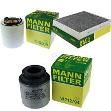 MANN-FILTER PAKET für VW Polo 6R 6C 1.2 TSI 16V 6R_ 1.4 GTI Fabia 542 NH3 TFSI
