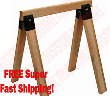 Tough Steel 2x4 Sawhorse Leg Brackets Rack Customized 2 Pcs.