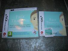 FACE TRAINING  - Rare Nintendo DS Game