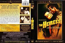 The Heiress ~ New DVD ~ Olivia de Havilland, Montgomery Clift (1949)