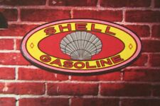 Shell gasoline oil mancave kitchen led lighted neon sign shop garage home decor