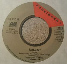 Foreigner – Urgent / Girl On The Moon  (VG+)