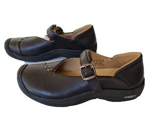 Keen Women's size 6 Black Leather Mary Jane BNIB RRP $185 Comfort Shoes