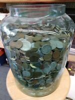 Foreign World Coins One Half 1/2 lbs Pound Lot n Plastic Bag - RobinsonsCoinTown