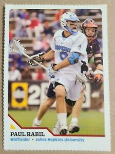 Paul Rabil 2007 SI Sports Illustrated For Kids RC Rookie #184 Rare