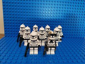 Lego Star Wars  / 9x Klonekrieger (Republik) inkl. Original Blaster