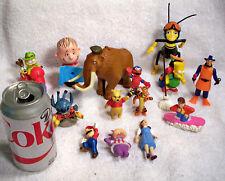 Lot of 16 Movie & Tv Characters: Winnie the Pooh & Tigger, Linus, Snufleufugus
