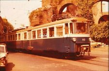 R5 - Dia slide 35mm original Italy Italia Rome Roma 1978: interlocal tramcar