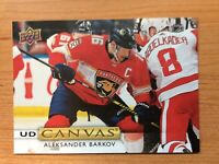 UPPER DECK 2019-2020 SERIES TWO ALEKSANDER BARKOV CANVAS HOCKEY CARD C-140