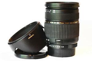 Tamron 28-75mm Auto Focus DI 1:2.8 Macro Zoom Lens for Pentax