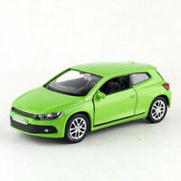 1:36 Scale VW Scirocco Model Car Diecast Toy Vehicle Pull Back Green Kids Gift