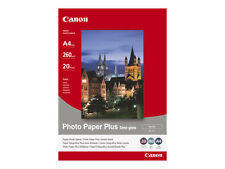 CANON PHOTO PAPER PLUS A4 SEMI-GLOSS/SATIN 260GSM - 20 SHEETS SG-201 1686B021