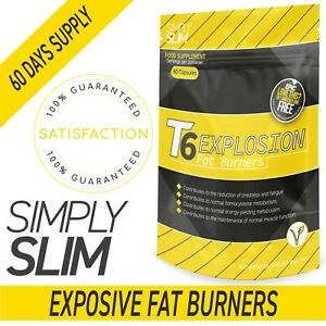 Simply Slim T6 Explosion Strongest Legal Weight Loss Pills Appetite Suppressant