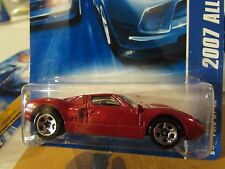 Hot Wheels Ford GT-40 2007 All Stars Red