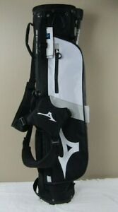 Mint Mizuno BR-D2 Carry/Stand Golf Bag, Color Black / White, 2 Club Divider