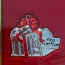 Lenox Bless This House 2008 Mailbox Christmas Ornament