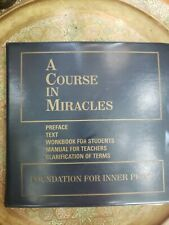 A Course In Miracles CD Set 59 Discs + Guide EUC