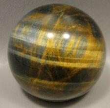 Tigereye 2 inch Stone Sphere Tiger's Eye Gemstone 50 mm Ball #2