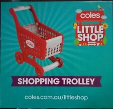 Coles Little Shop Shopping Trolley *NEW*