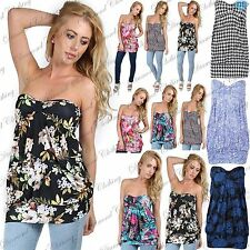 Viscose Floral Sleeveless Tops & Shirts for Women