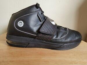 Nike LeBron Zoom Soldier IV 4 TB Black Sneakers 407630-001 Men's Size 13 RARE!