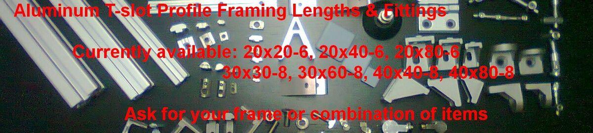 Kyprianos Aluminum T-slot Framing