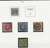 GERMANY  1862 BAVARIA EARLY STAMPS CAT £200+   REF R4060