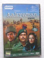 AAKRAMAN DVD Hindi Movie bollywood Sanjeev Kumar Rakesh Roshan Rekha