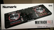 Numark MixTrack Pro III 3 Serato DJ USB Controller Built-In Sound Card