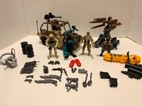 Chap Mei Military Action Figures With Jeep Vehicle and other toys lot