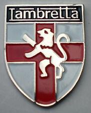 LAMBRETTA SCOOTER SHELD PIN BADGE NEW