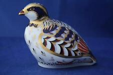 ROYAL CROWN DERBY RED-LEGGED PARTRIDGE PAPERWEIGHT MMXIII - NEW / BOXED