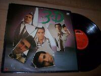 VG++ 1980 3-D Self Titled LP Album