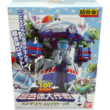 Bandai Chogokin Disney Toy Story Chogattai Daisakusen Buzz the Space Ranger Robo