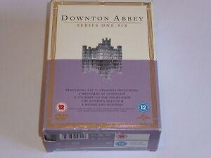 Downton Abbey -The Series 1-6 Collection - GENUINE UK 23x DVD BOX SET Downtown